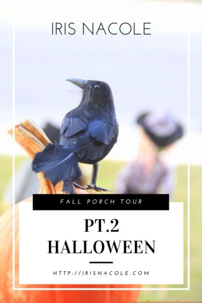 Fall Porch Tour, Pt.2 (Halloween)