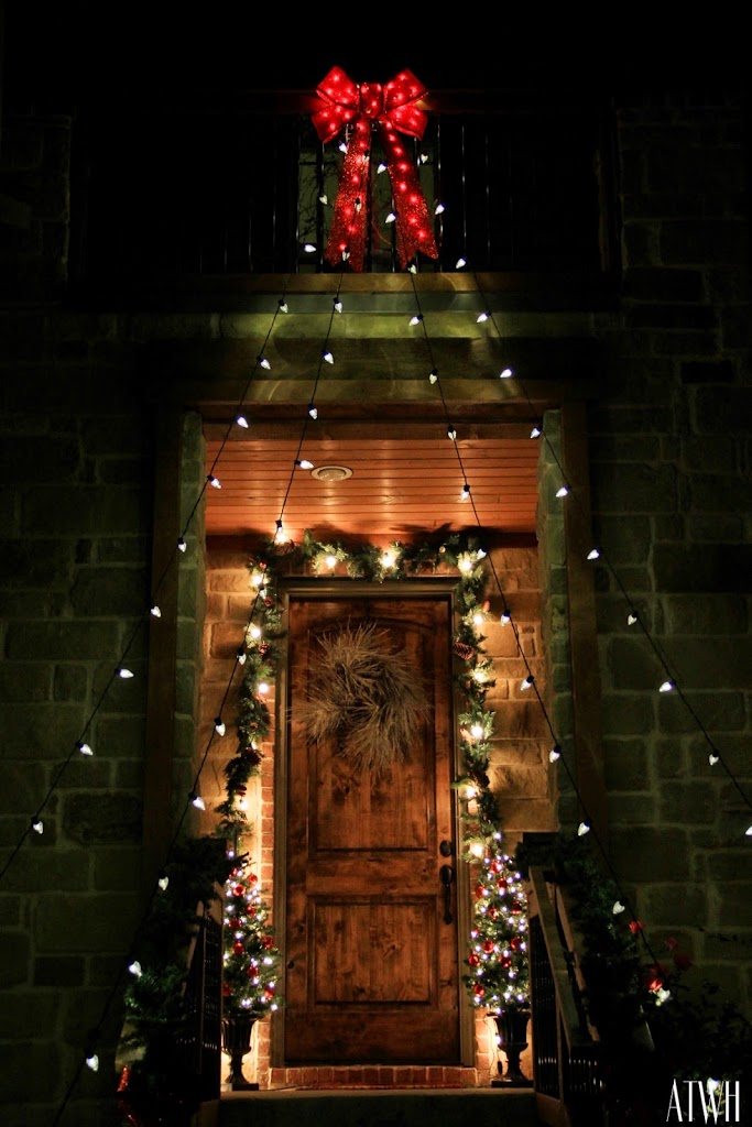 Christmas Porch at Night, Olaf, & The Christmas Home Tour Starts Today!