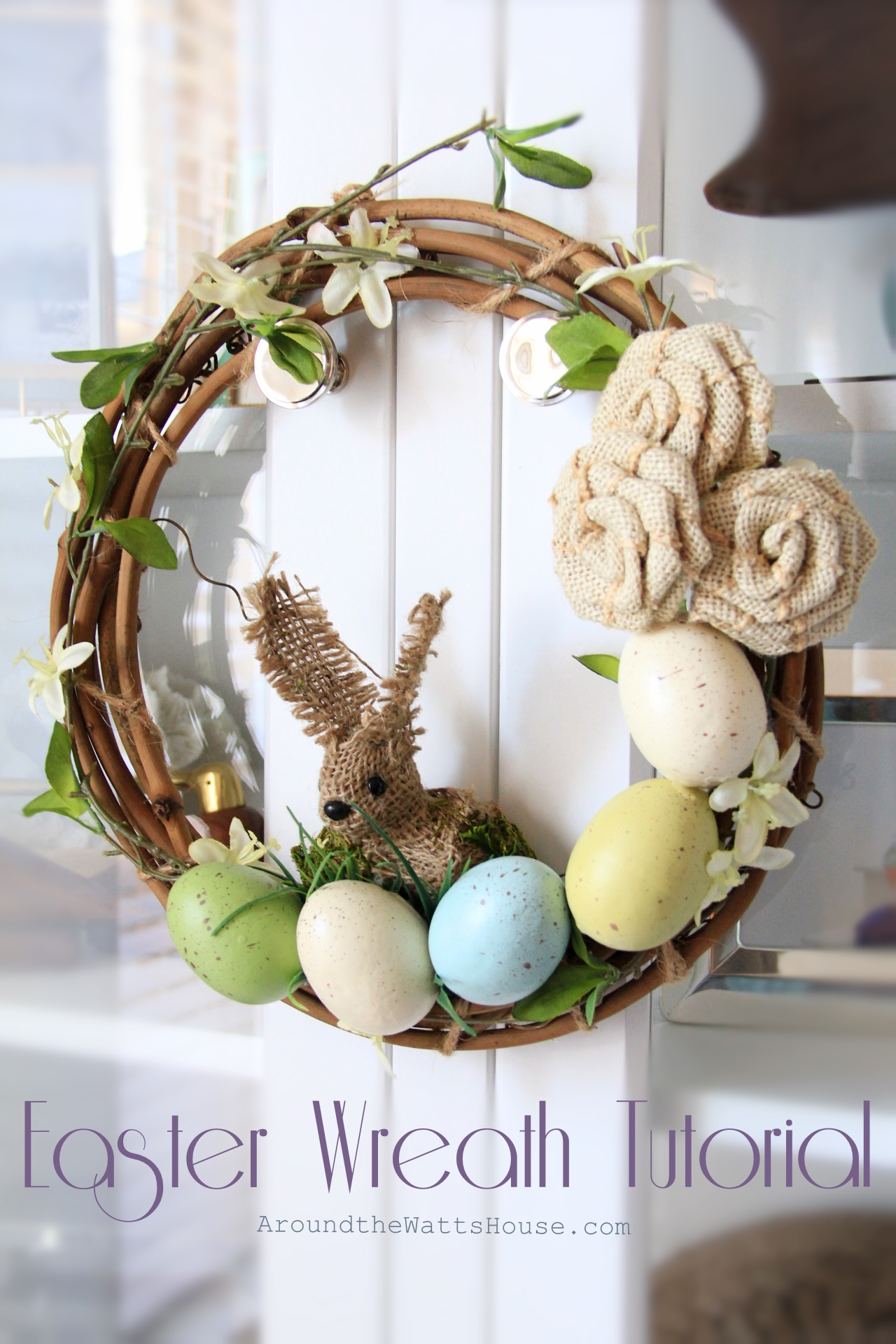 Easter Wreath Tutorial
