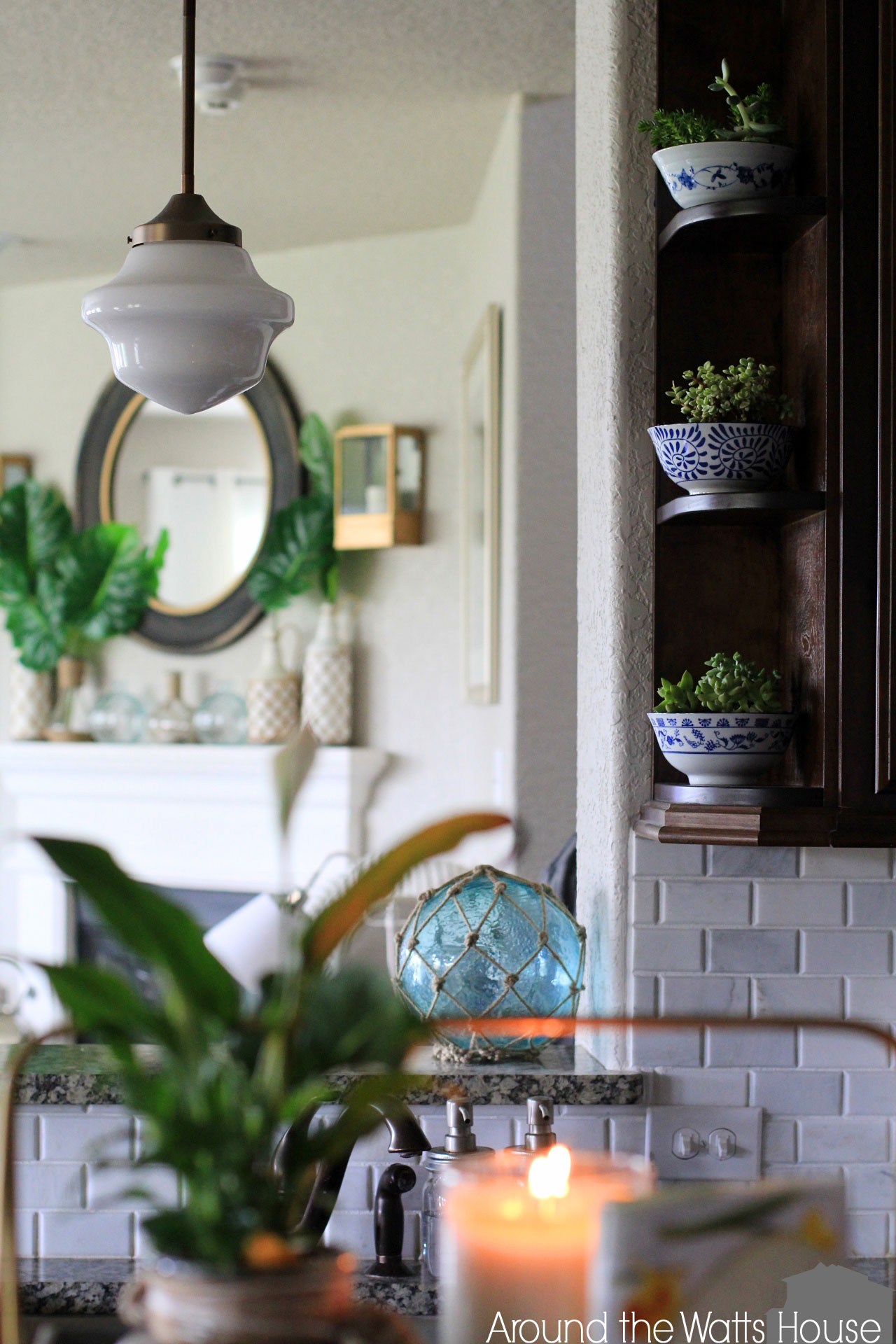 Summer Home Tour- The Kitchen and Dining Room