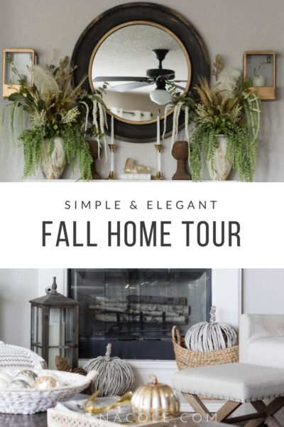 Fall Home Tour-Simple and Elegant