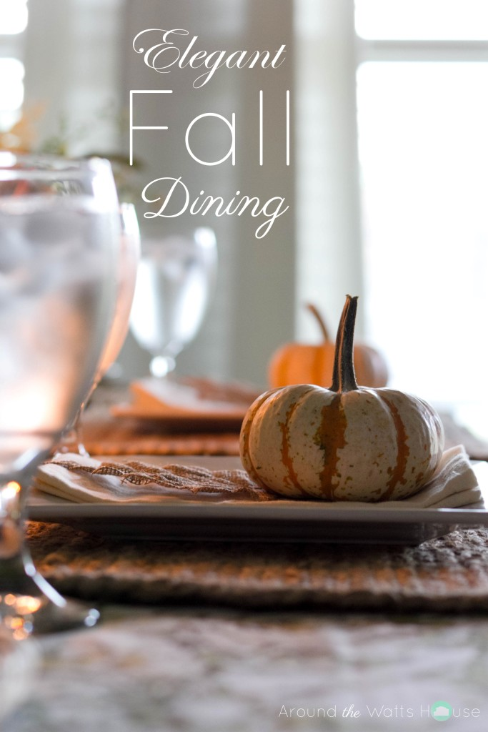 Fall Tablescape Title Image