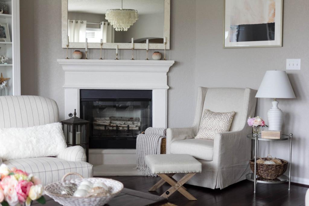 Cozy-Neutral-Living Room-IrisNacole.com-New Year, New Room Challenge