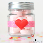 Jar-of-Marshmallow-Hearts-Valentine's Day Craft-IrisNacole.com