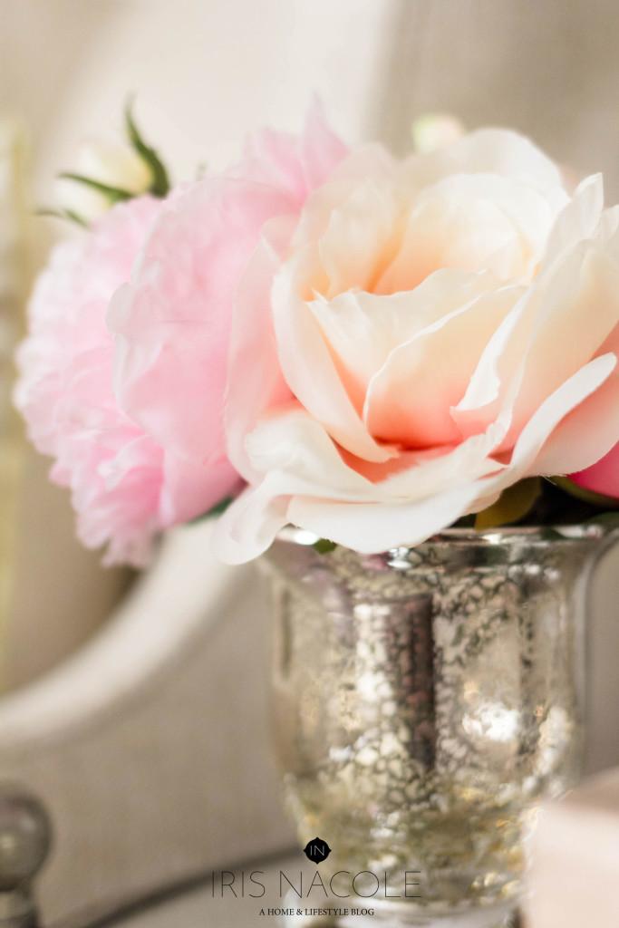 Lamps-Plus-Floral-Arrangement New Year, New Room Challenge