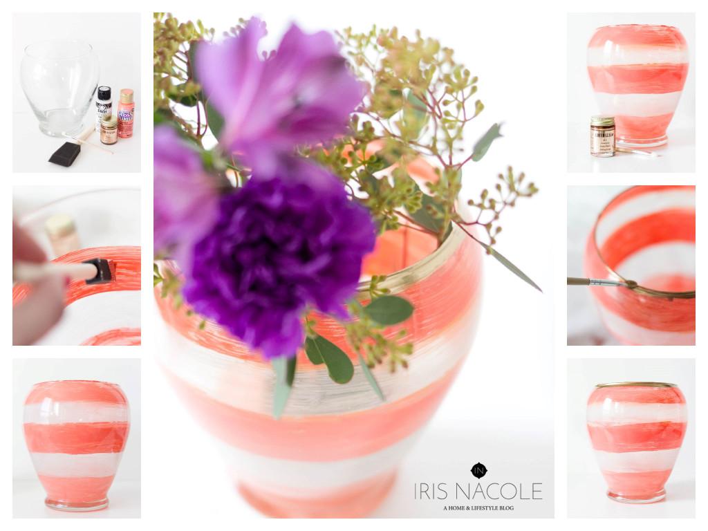 Kate-Spade-Vase-Tutorial-Knock it Off Decor IrisNacole.com