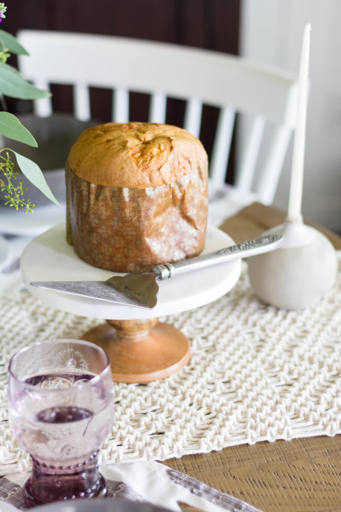 Marble and wood Cake Stand Cost Plus World Market
