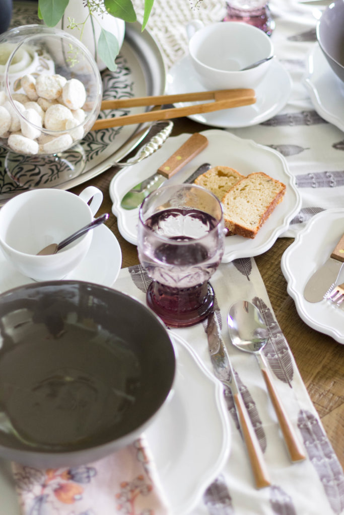 A fall to summer bohemian tablescape by IrisNacole for Cost Plus World Market