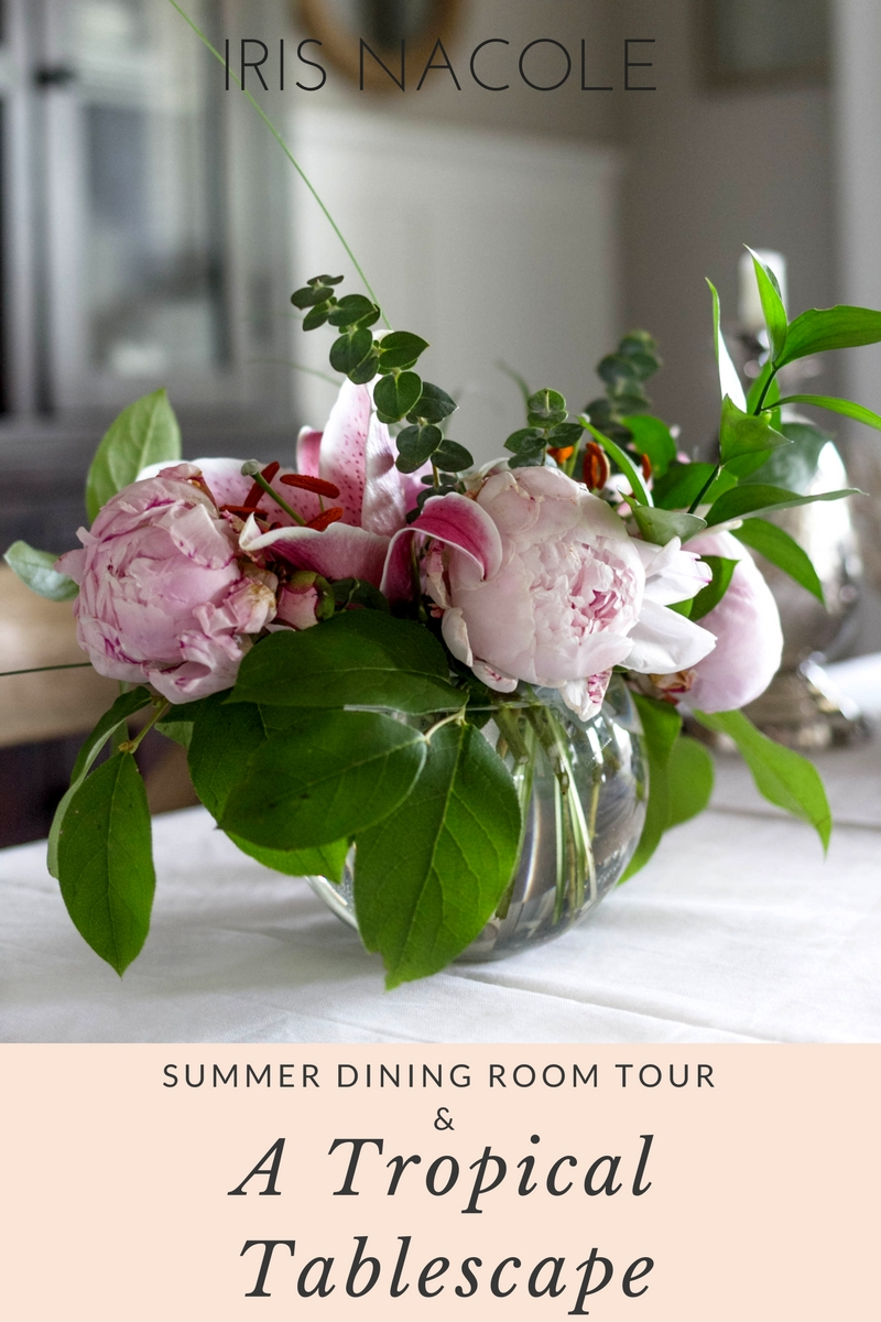 a-tropical-summer-dining-room-tablescape-irisnacole-com