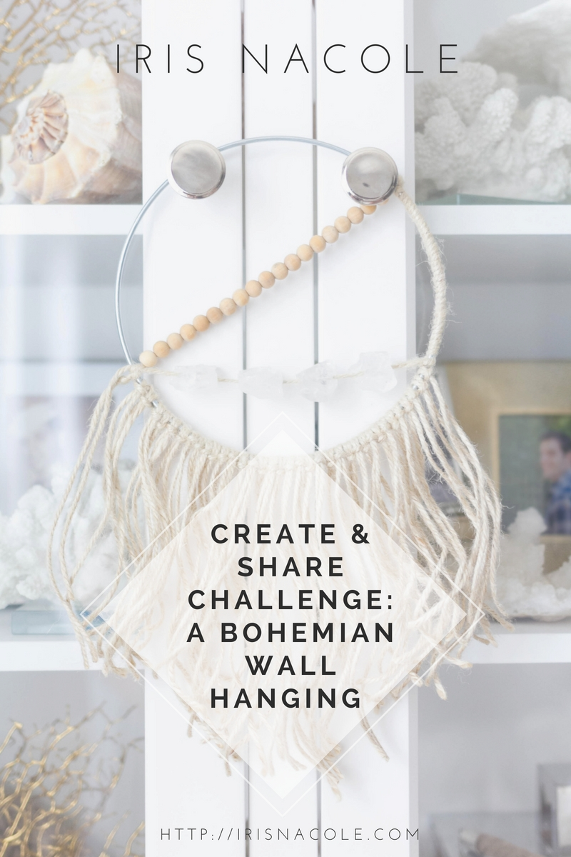 Create and Share Rope Challenge: A Bohemian Wall Hanging