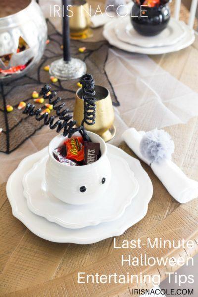 Last-Minute Halloween Entertaining Tips