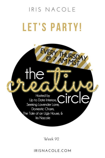 The Creative Circle Link Party-Week 92