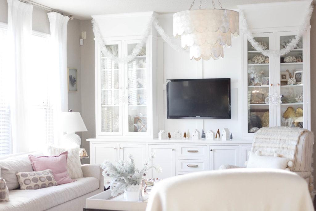 cozy living room decor-bohemain-glam-christmas-home-tour-iris-nacole-living-room-tour