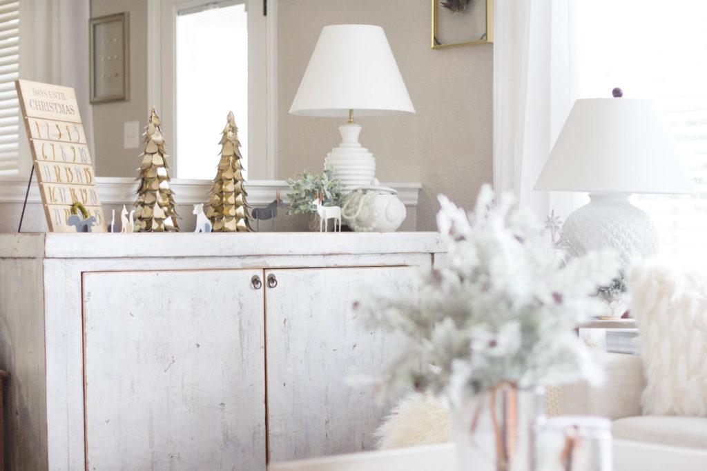 Tabletop decor-bohemain-glam-christmas-home-tour-iris-nacole-living-room