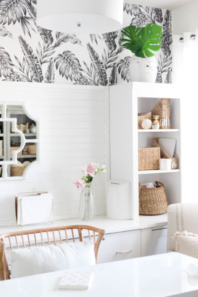 New Year, New Room: Office Refresh (A Tropical-Chic Home Office)