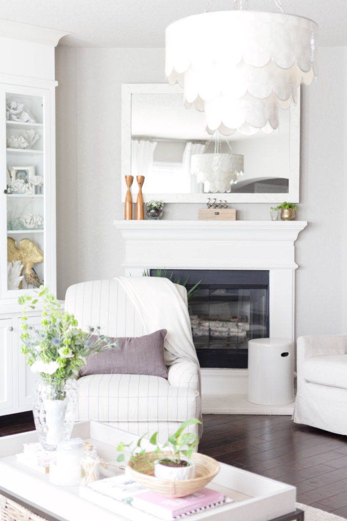Refined-Chic spring living room style IrisNacole.com