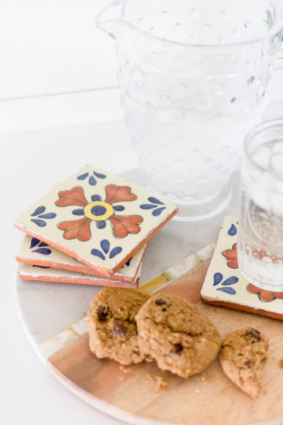 Quick Craft: Patterned Tile Coasters