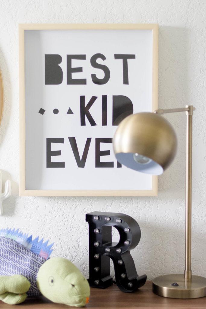 Modern Beach-Big Boy Bedroom-Makeover-Home Makeover-Kids Bedroom Inspiration-Art-IrisNacole.com