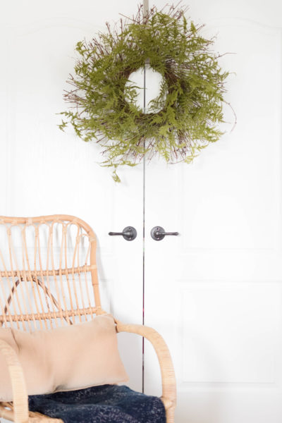 Quick Craft: Fern Wreath