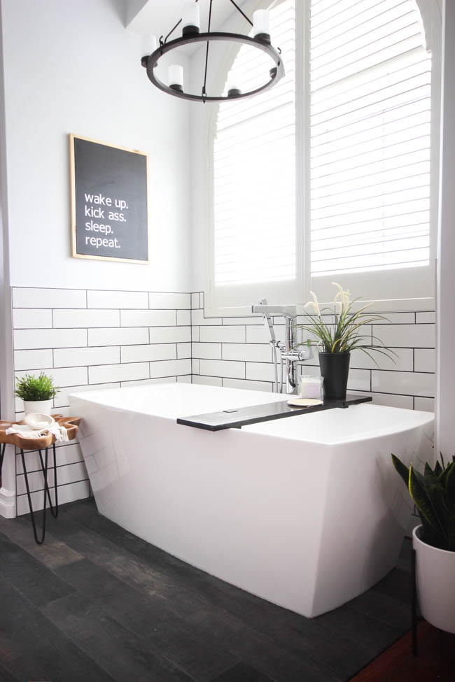 Love Create Celebrate Modern Bathroom Makeover