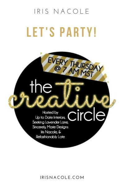 The Creative Circle Link Party: Week 135