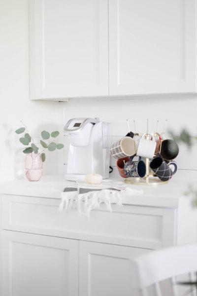 HomeRight Finish Max Sprayer-IrisNacole-Dining Room Makeover-Coffee Station