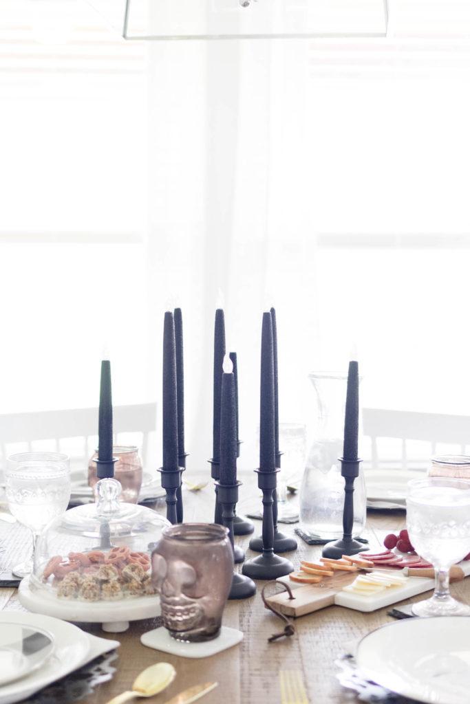 Simple Halloween Dining-IrisNacole.com