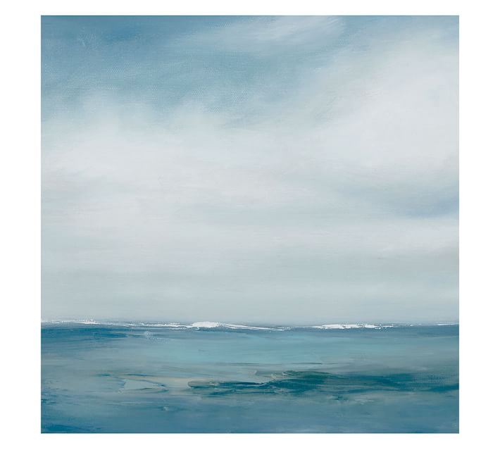 ABSTRACT OCEANSCAPE CANVAS BY TRICIA STRICKFADEN