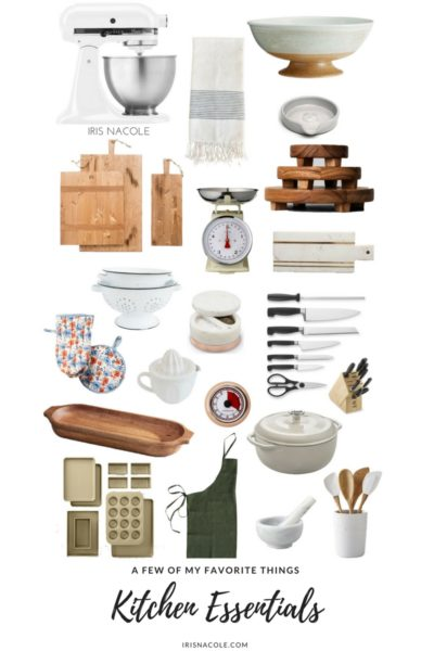 A Few of My Favorite Things-Kitchen Essentials
