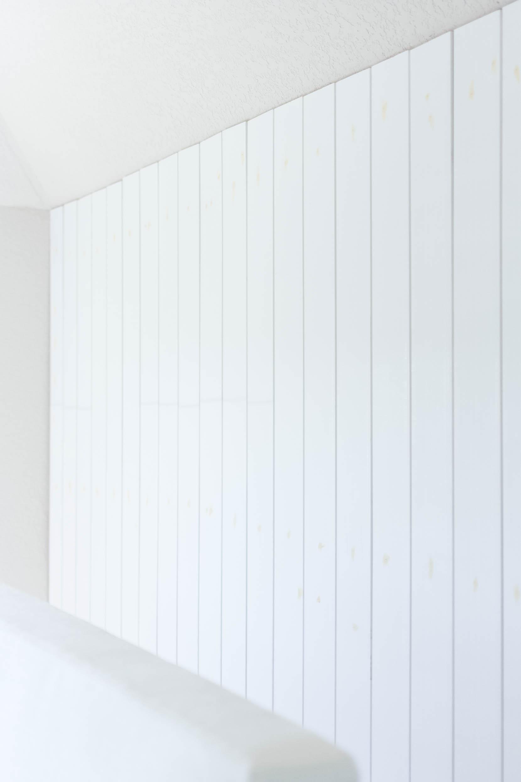 Vertical Shiplap Bedroom Makeover-IrisNacole.com