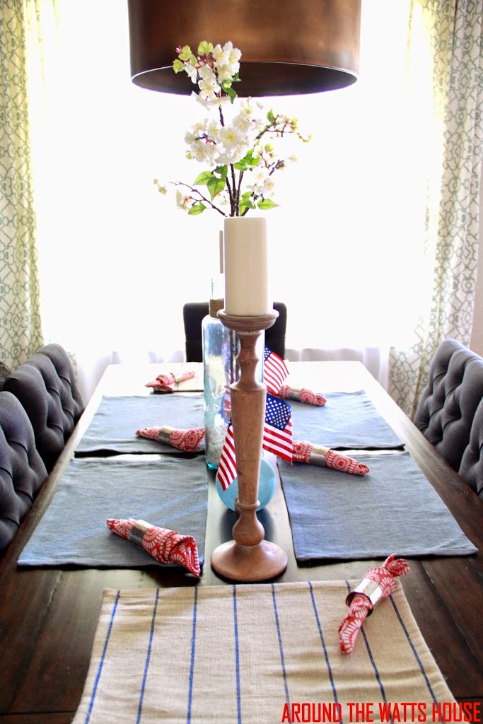 4th of July Decor Pictures/Keeping it Cheap