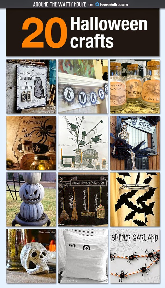 20 Halloween Crafts Cipboard to be Featured in Hometalk Newsletter!