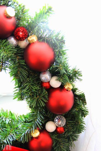 Holiday Wreath-DIY