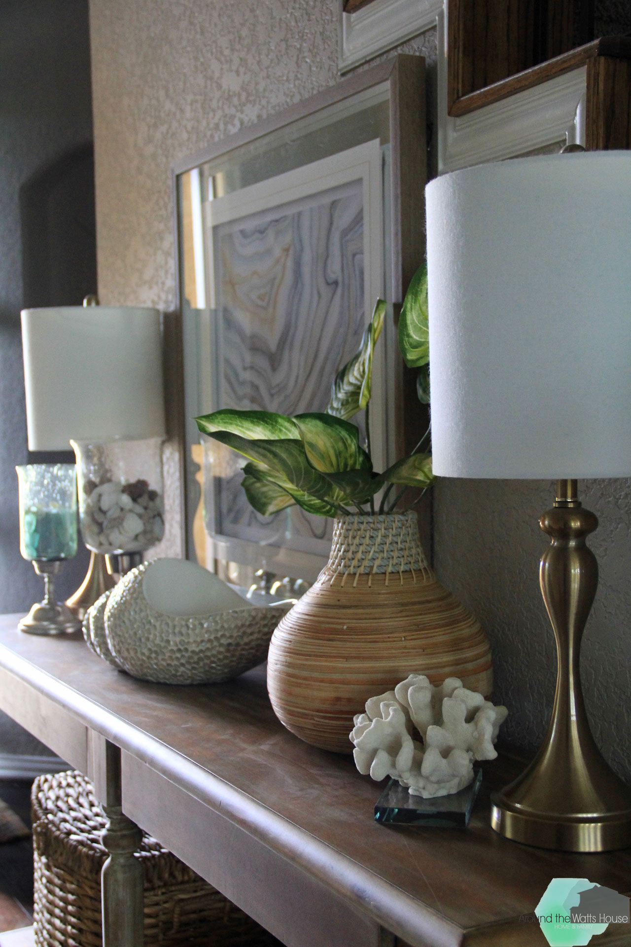 Summer Home Tour-The Entryway