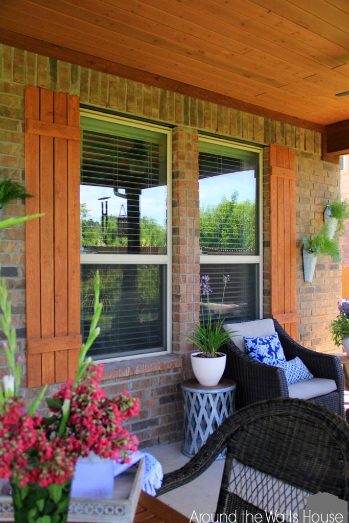 Cedar Shutters DIY