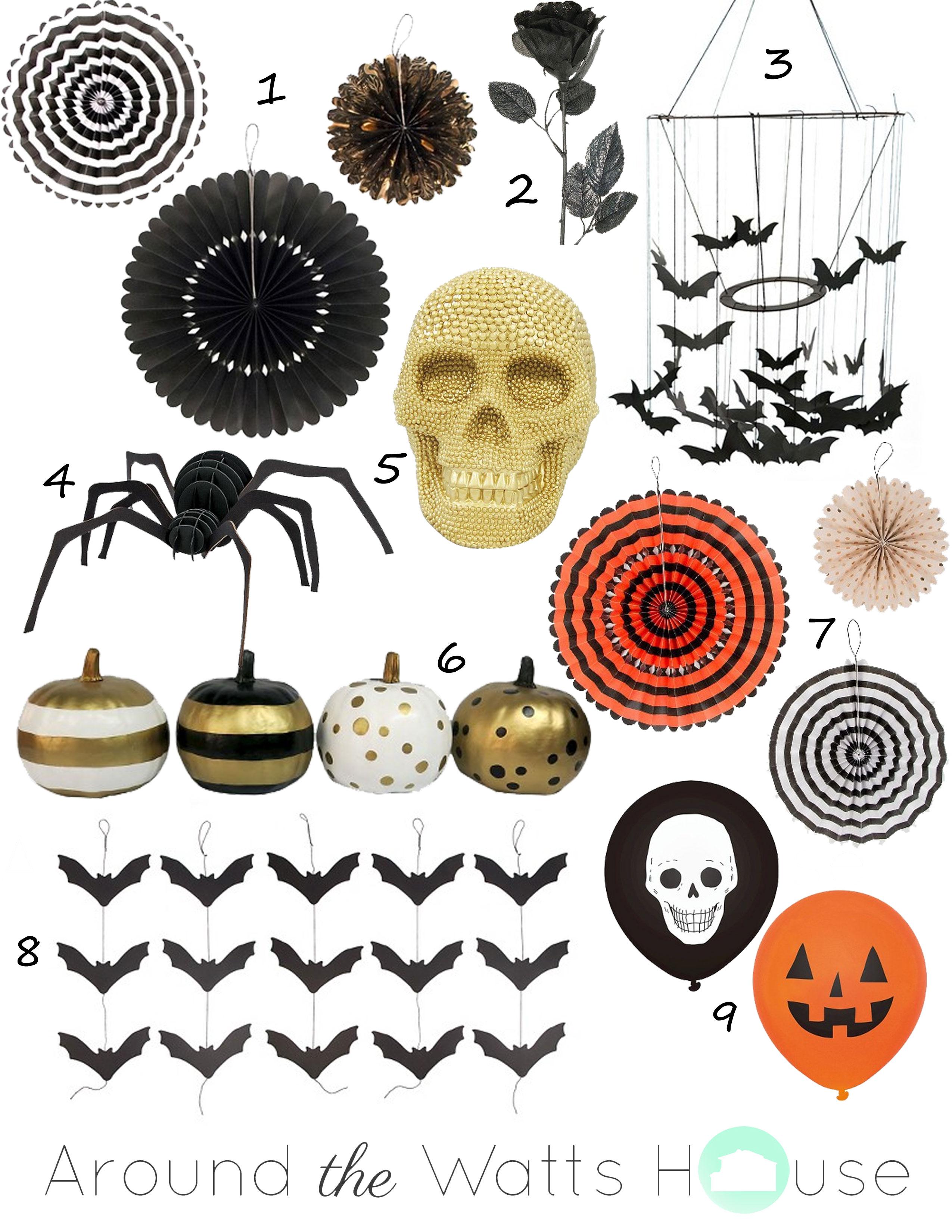 Wednesday Wish List-Halloween Decor