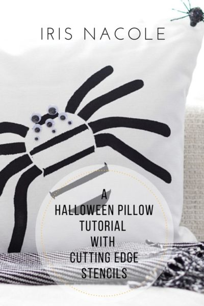 Cutting Edge Stencils: Paint-a-Pillow (Create & Share)