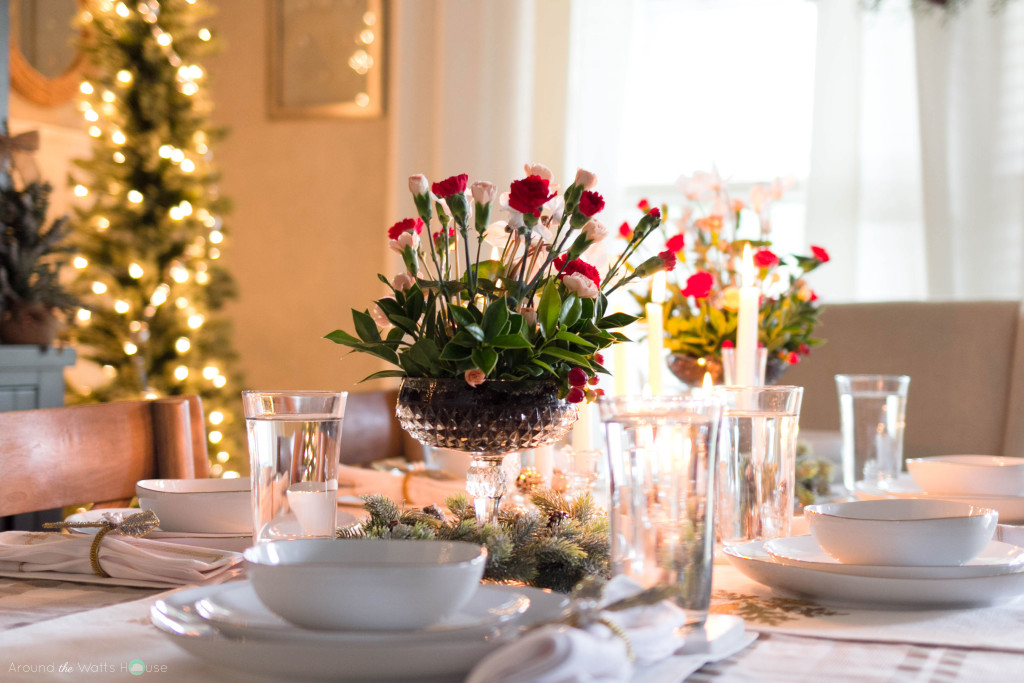 Holiday-Christmas Table Decorations
