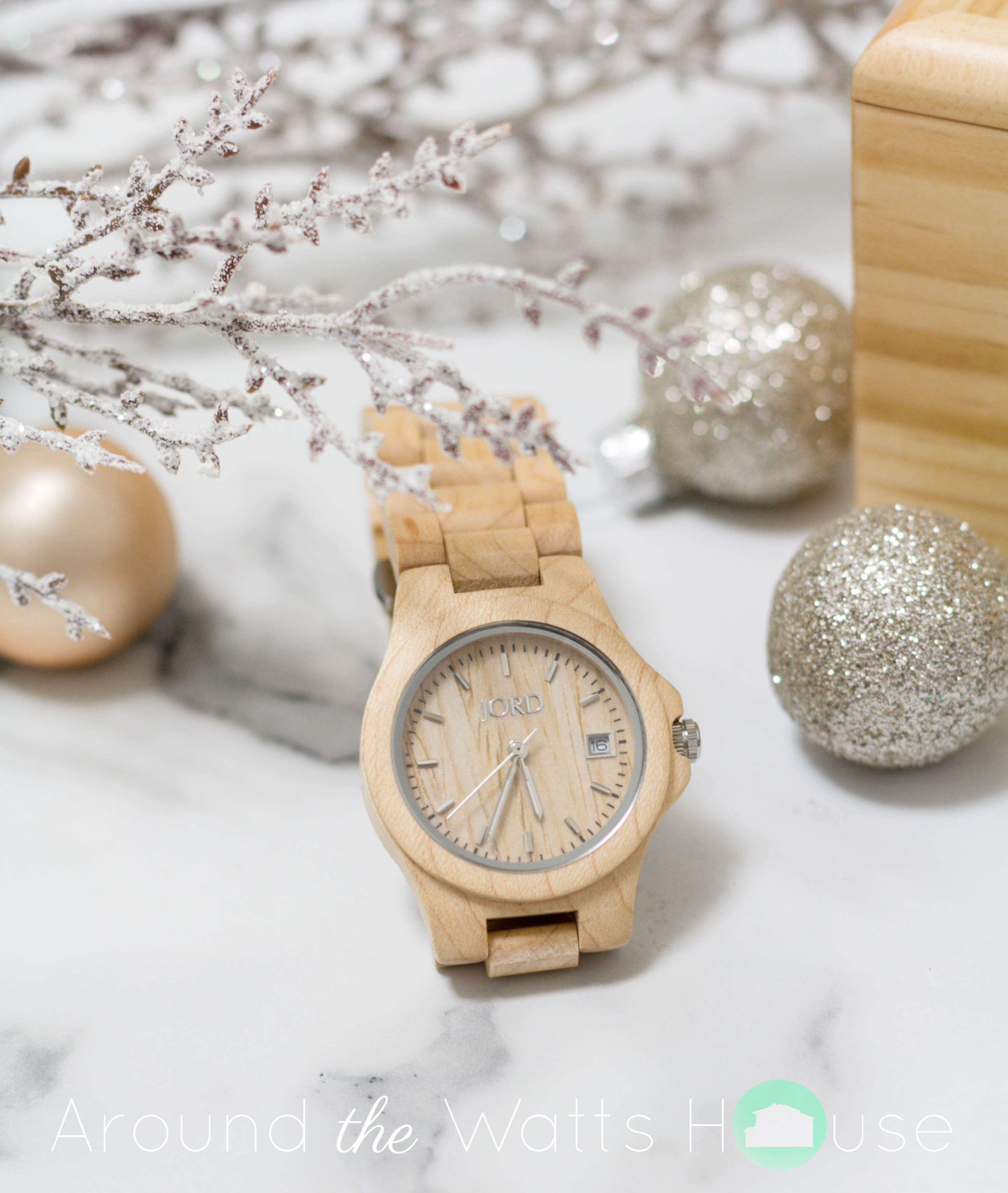 Giveaway with JORD Wood Watches!