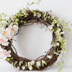 Spring-Valentine's Day Wreath-IrisNacole.com