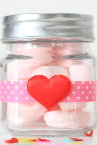 Jar of (Marshmallow) Hearts (#CraftyCupid)