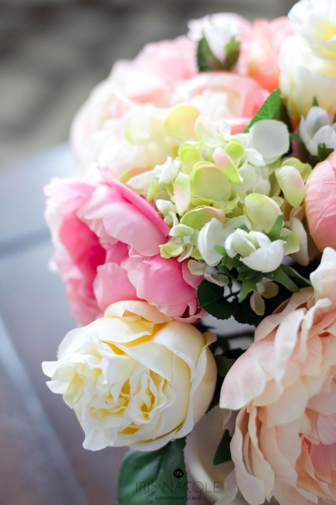 Large-Faux-Floral-Arrangement-IrisNacole.com