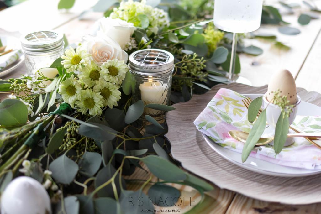 Floral Garland Centerpiece-47