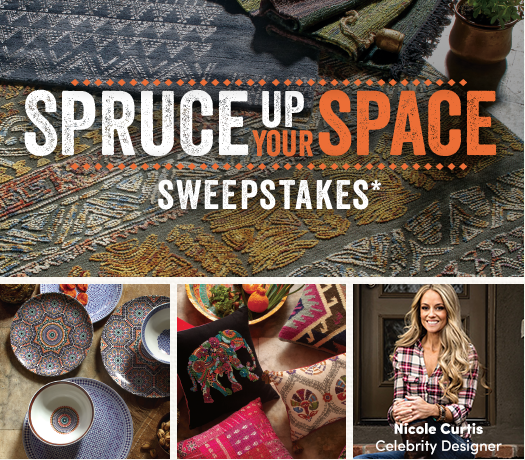 Cost Plus World Market Spruce Up Your Space Sweepstakes
