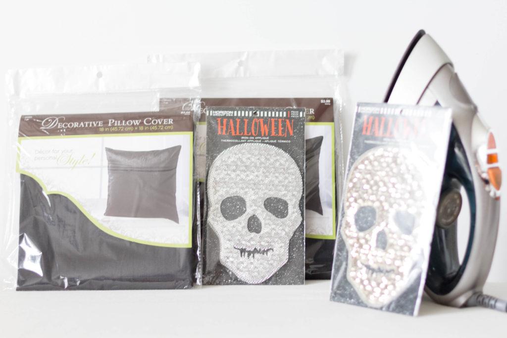 glam-diy-halloween-throw-pillow-irisnacole-com-supplies