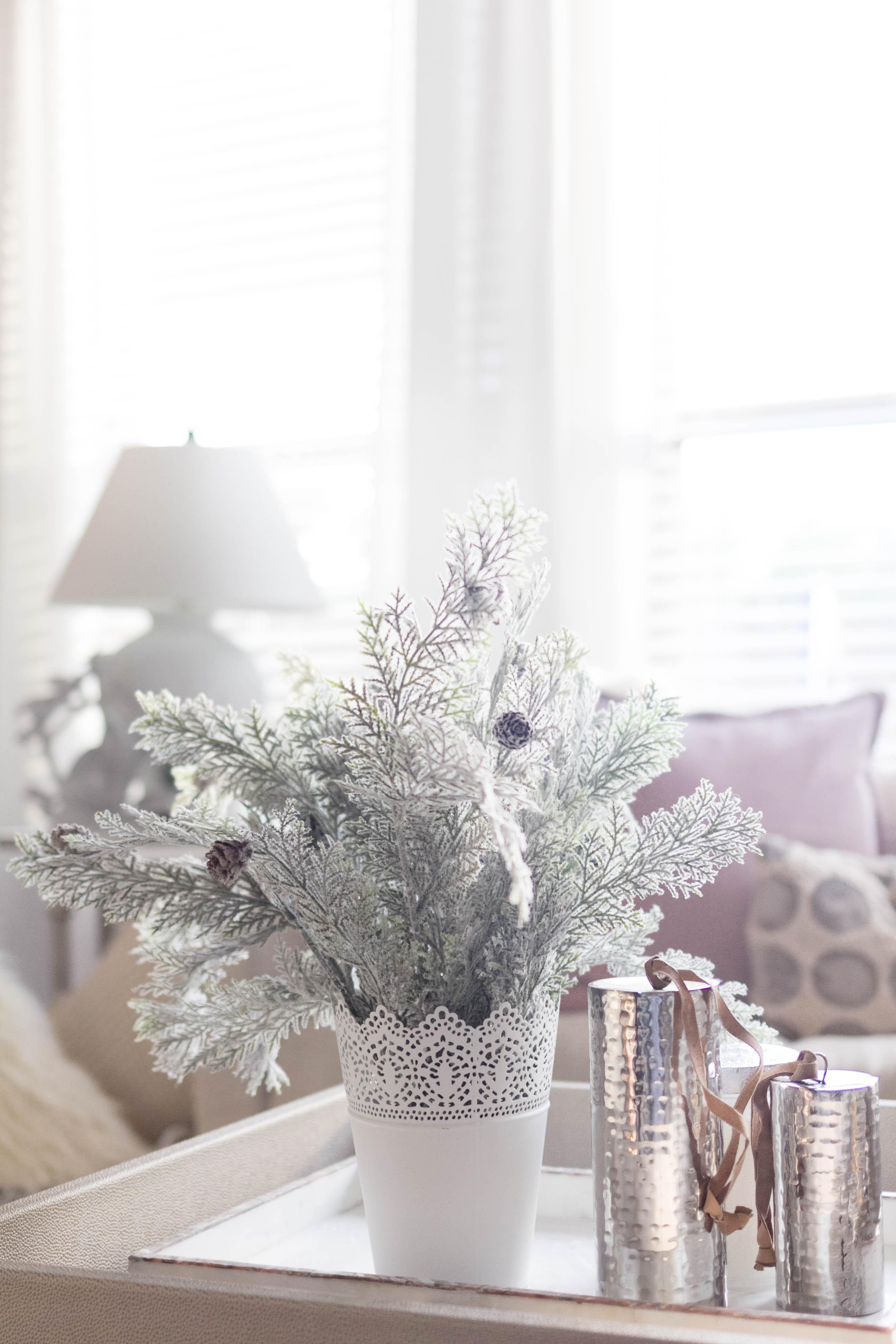Bohemain Glam Christmas Home Tour Iris Nacole Living Room 7