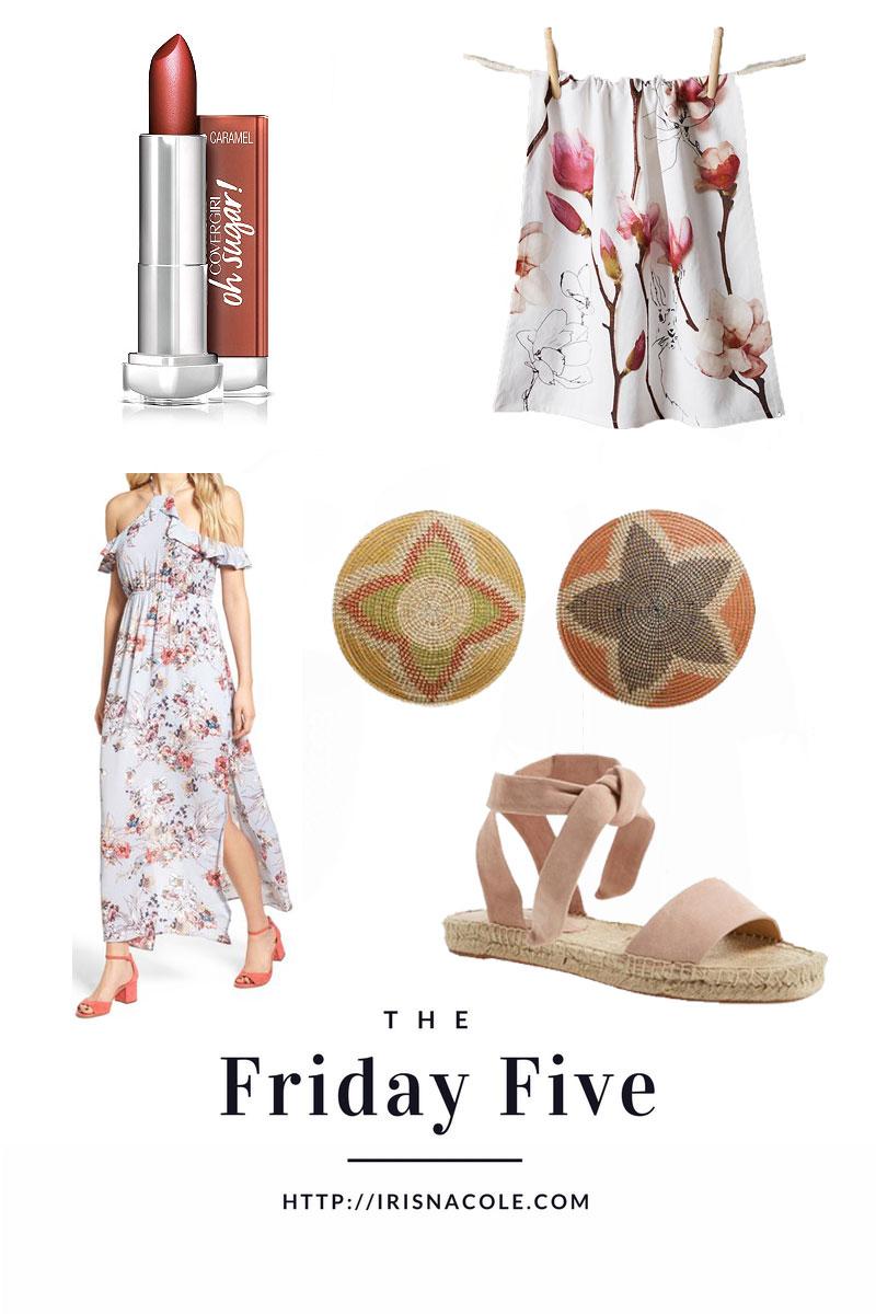 Home, Fashion, and Beauty Picks-The Friday Five-IrisNacole.com
