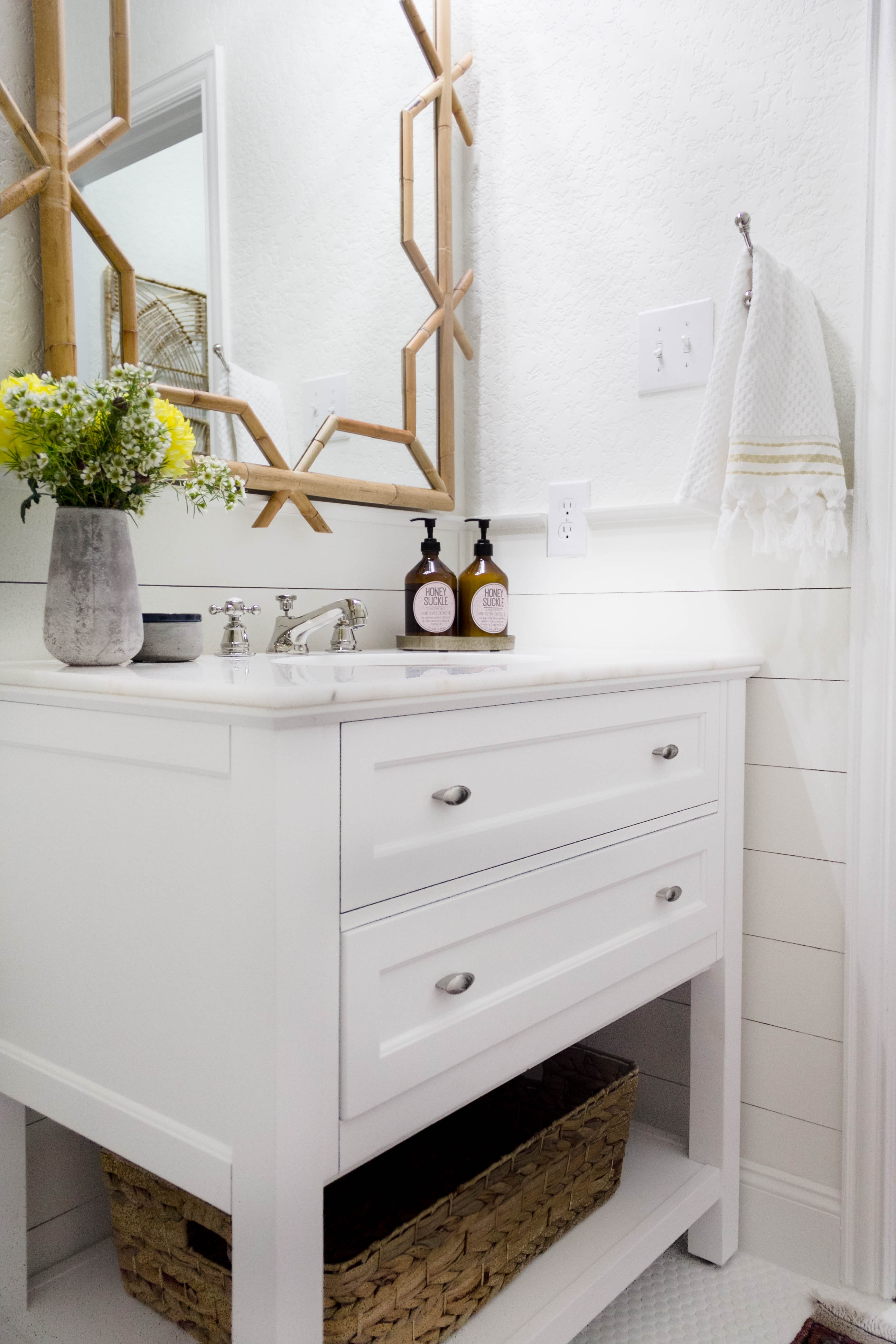 One Room Challenge: Powder Room / Mudroom Renovation (Week 6-The ...