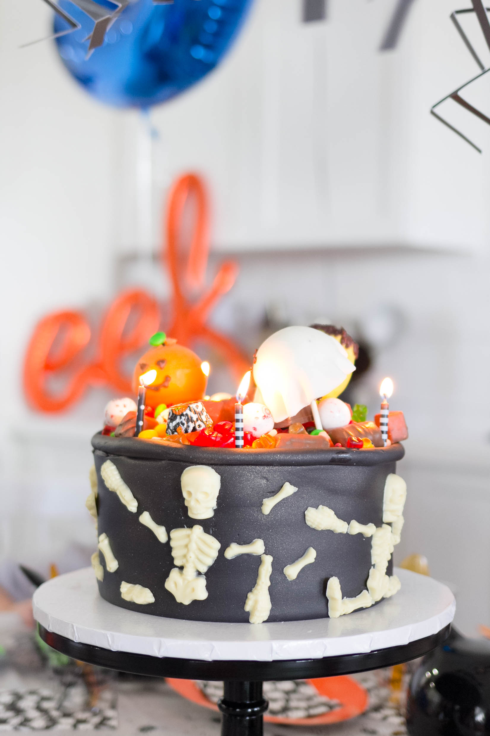 A Kid Friendly Halloween Themed Birthday Party