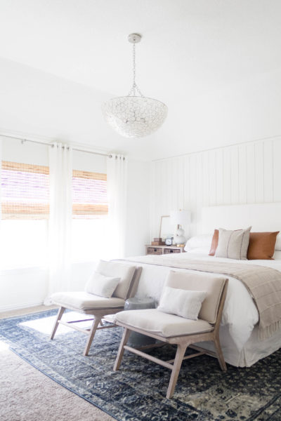 Classic meets California Casual-Master Bedroom Makeover (The Reveal)